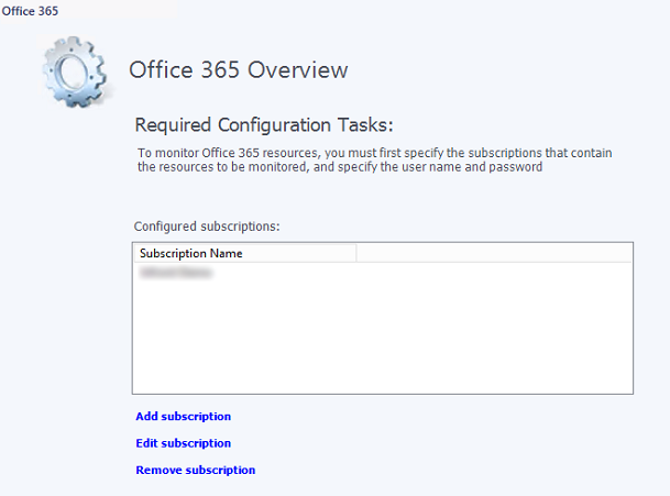Configuring Office 365 (O365) Management Pack in SCOM