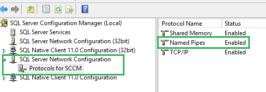 SCCM 2012 R2 (Configuration Manager) – Setup is unable to