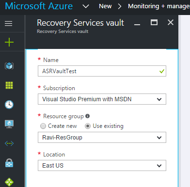 Step-by-Step: Setup and Configure Azure Site Recovery (ASR
