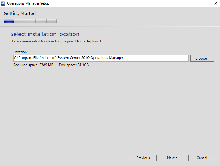 Step-by-Step – Installing System Center Operations Manager (SCOM