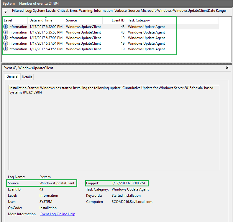 Using OMS for Patch Deployment (Update Management) | SCOM