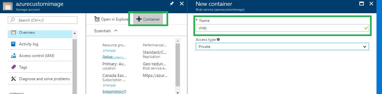 How to upload Custom Images to Microsoft Azure using