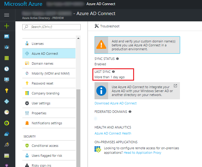How To Disable Azure AD Connect via PowerShell | SCOM