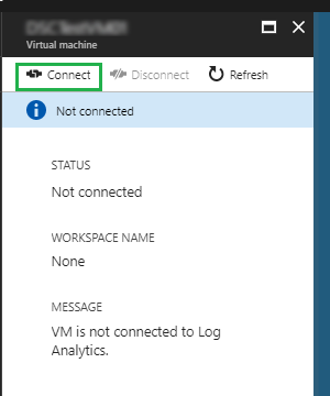 Connect Azure VMs to Log Analytics (OMS) via ARM Portal – SCOM
