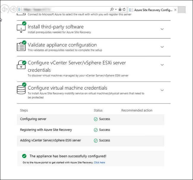 Step-by-Step – Deploying Azure Site Recovery (ASR) OVF