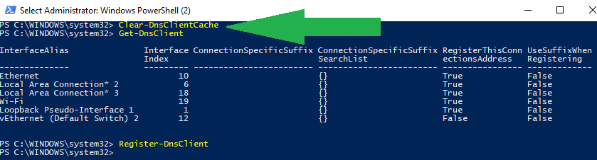 Flush DNS Cache with PowerShell – SCOM & Other Geeky Stuff